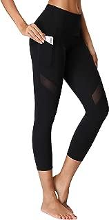 Women's Yoga Capris Power Flex Running Pants Workout Leggings