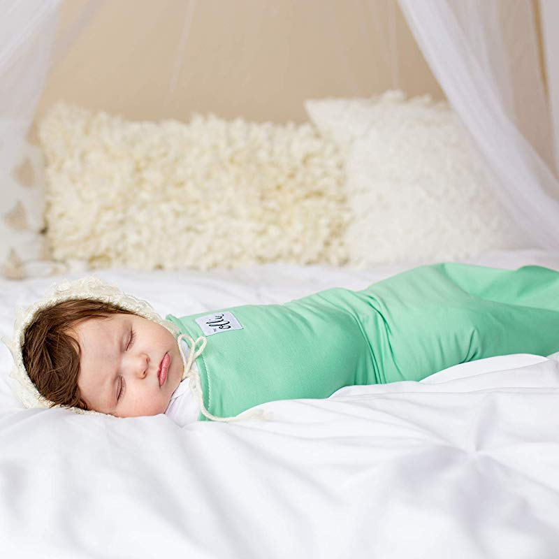 The Ollie Swaddle Meadow Helps To Reduce The Moro Startle Reflex Made From Custom Moisture Wicking Material No Overheating Size Adjustable For All Months Of Babies