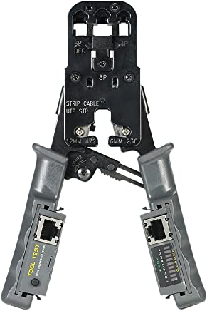 Generic Multifunktionale Zange, RJ45 Zange, Crimpzange, Crimp Zange, Cutter B07DPLQXQC | Günstige Preise