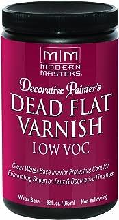 Modern Masters DP40032 Interior Dead Flat Varnish Low VOC Quart (Packaging may vary)