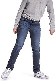 BOOF - Pantalones Vaqueros para niños (Ajuste Regular, algodón), Color Azul