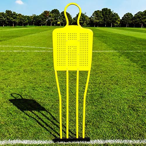 FORZA Fußball Freistoß-Dummies - Jugendliche/Erwachsene Fußball Dummies (Einzeln, Jugendliche)