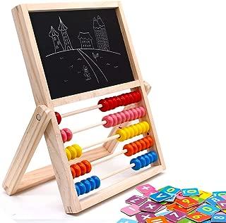 jerryvon Ábaco Infantil Montessori de Madera, Puzzle