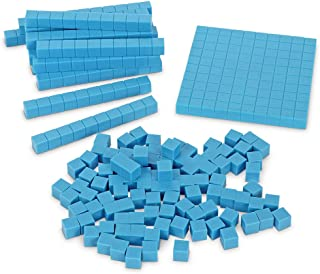 Learning Resources Base Ten Blocks Smart Pack, Early Childhood Math Skills, Ages 5+