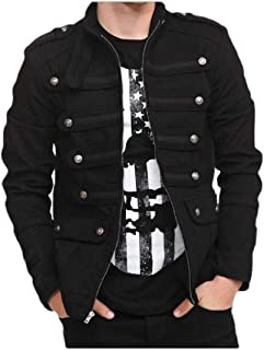 Cromoncent Mens Thin Lightweight Hooded Zipper Pocket Slim Faux Fur Lined Down Outerwear Coats Jacket