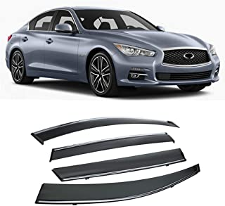 Best infiniti q50 window visors Reviews