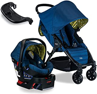 Britax Pathway & B-Safe 35 Travel System, Connect with Tray Bundle