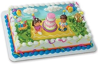 Dora the Explorer and Diego Birthday Cake Topper Decorating Kit
