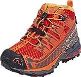 La Sportiva 15I304304, Zapatillas de Trail Running Unisex niño, Rojo (Flame 000), 33 EU