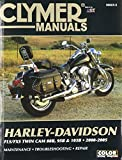Clymer Repair Manual for Harley Softail Twin Cam 88 00-05, Black, one Size (CM423-2)