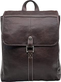 Hidesign Beaumont Backpack Bag for Men - Genuine Leather, Brown