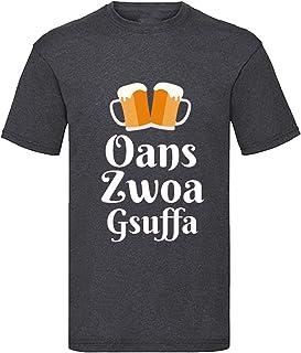 """3XL Herren T-Shirt /"""" TRINK MAL MEHR DIE LEUTE GUCKEN SCHON /""""Spaßshirt Größe S"""