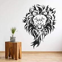 Pegatinas de Lion T-MK058 – Negro – 57 x 74 cm