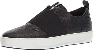 أحذية رياضية رياضية نسائية ناعمة 8 سهلة الارتداء من ايكو ، باللون الأسود