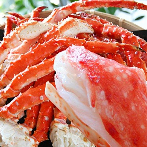 【冷凍】 タラバガニ 2kg カット済み 切れ目 入り ロシア産 たらば蟹 ( ギフト ・ 鍋用 かに )