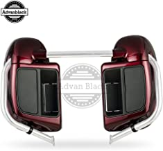 Us Stock Advanblack Mysterious Red Sunglo Lower Vented Fairings Kits Fit for Harley Touring Street Glide Road King Road Glide Electra Glide 2014 2015 2016 2017 2018 2019