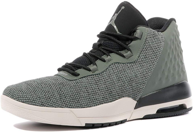 Jordan Schuhe – Academy grau schwarz wei Gre  40.5