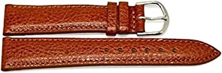 19MM Brown Padded Genuine Leather Watch Band Strap FITS Swiss Army VICTORINOX