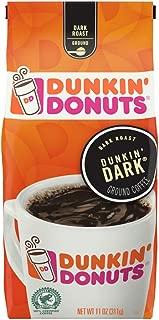 Dunkin' Donuts Dunkin' Dark Ground Coffee, Dark Roast, 11 Ounce