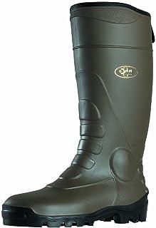 Work Boots Soul Rebel Garden - Khaki Black-Soled - Made in France