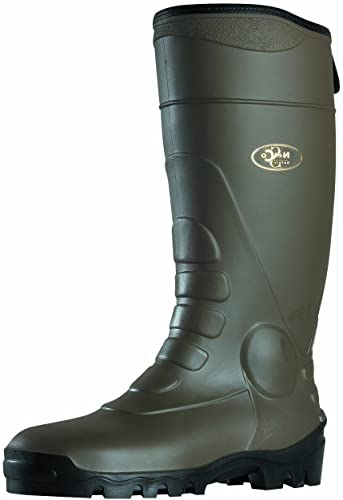 Soul Rebel botas de trabaño Diseño de jardín - negro-suela Caqui - fabricaño en Francia