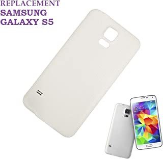 f5fb5f98b8e swark batería Tapa Tapa Trasera para Samsung Galaxy S5 G900 F, Color Blanco
