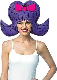 Rasta Imposta - Purple Bouffant Adult Foam Wig