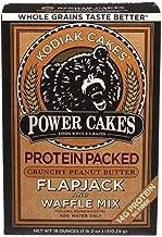 Kodiak Cakes Power Cakes: Chocolate and Crunchy Peanut Butter Combo Pack, 18 oz. each