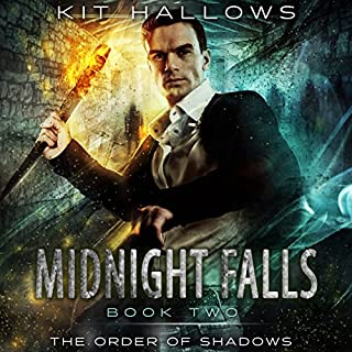 Midnight Falls  audiobook cover art