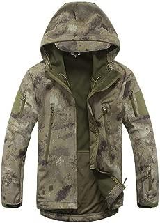 Sunshine-supermarket-outerwear Jacket Men Waterproof Coat Camouflage Hooded Army Camo Clothing
