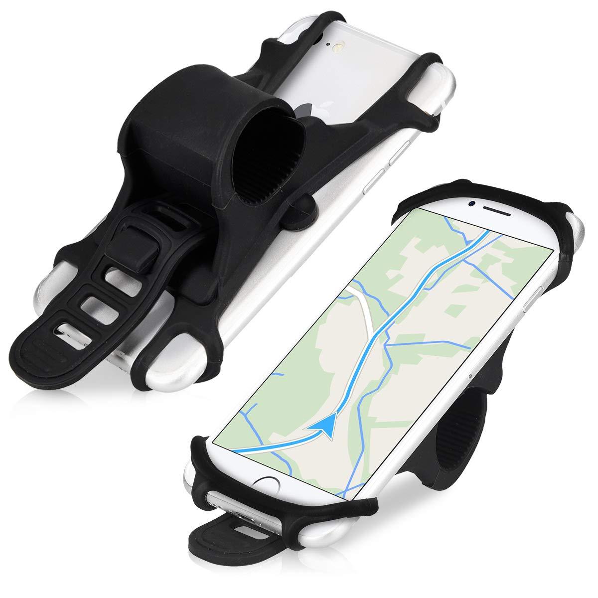 kwmobile Soporte para Bicicleta de móvil Compatible con Smartphone de Silicona: Amazon.es: Electrónica