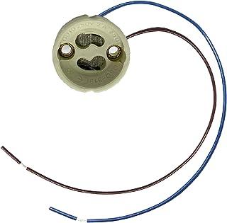 10x douille pour hochvolt-Halogène Lampes gu10 230v avec dispositif anti-traction lampes version