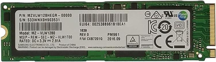 Samsung PM961 Polaris 128GB M.2 NGFF PCIe Gen3 x4, NVME Solid State Drive SSD, OEM (2280) (MZVLW128HEGR-00000)