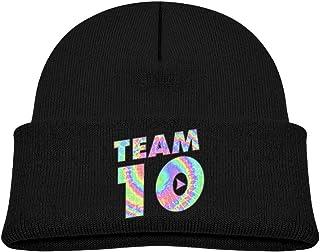 59664f0d437 Kddcasdrin Team10 Tie Dye Jake Paul Cotton Comfort Beanies Warm Knit Cap  for Boys   Girls