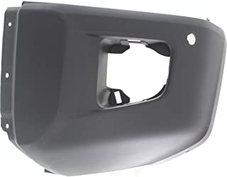 MBI AUTO - Painted to Match, Drivers Side Front Left LH Bumper Cover End for 2014-2019 Toyota Tundra w/Park Assist 14-19, TO1004183