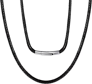 Best 4mm leather necklace Reviews