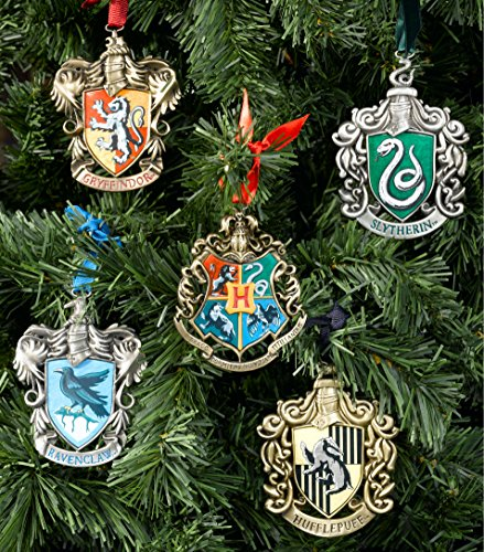 The Noble Collection Hogwarts Christmas Tree Adornos
