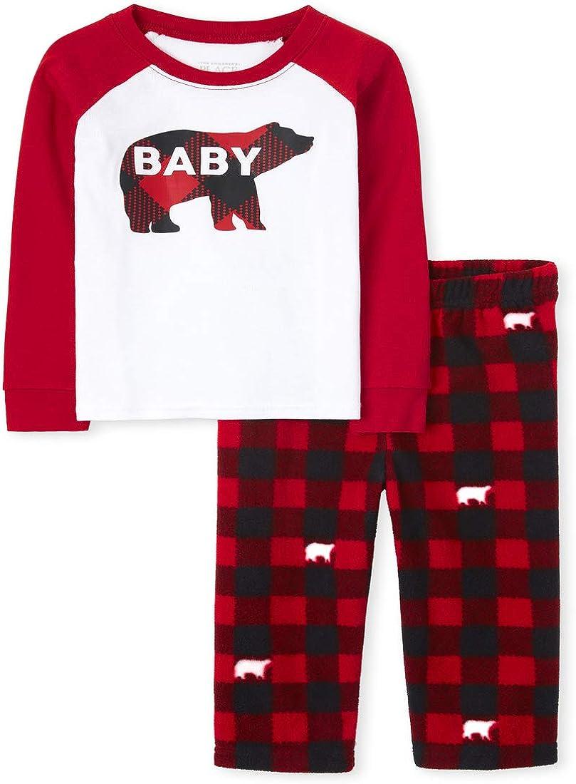 The Children's Place Baby Christmas Pajama Set