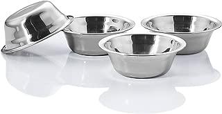 Wansheng Dog Bowls, Stainless Steel Food Dish, Pet Dishes, Cat Watering Bowls