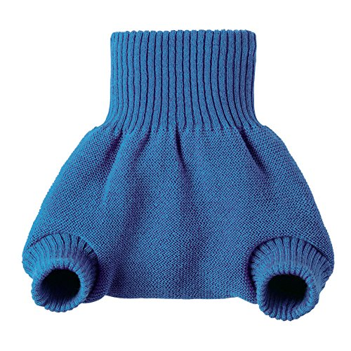 Product Image of the Disana Organic Merino Wool Cover-Blue-62/68 (3-6 mo)