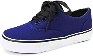 Kids Classic Lace-Up Tennis Skate Sneakers