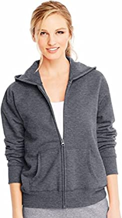Hanes Women's Fleece FullZip Hood 8oz. Sweatshirt