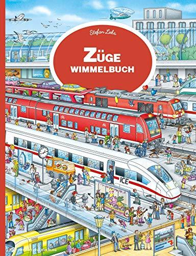 Züge Wimmelbuch: Mein großes Eisenbahn Wimmelbuch ab 3 Jahren