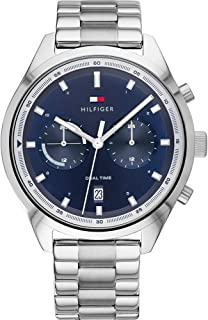 Tommy Hilfiger Men's Analogue Quartz Watch with Stainless Steel Strap 1791725