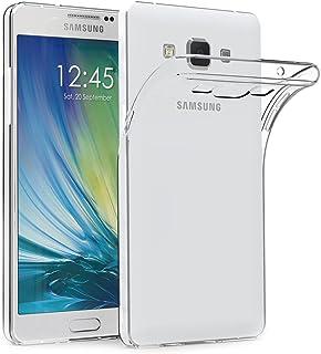 AICEK Funda Samsung Galaxy A5 2015, Samsung Galaxy A5 2015 (A500F/A500FU) Funda Transparente Gel Silicona Galaxy A5 2015 Carcasa para Samsung Galaxy A5 2015 5