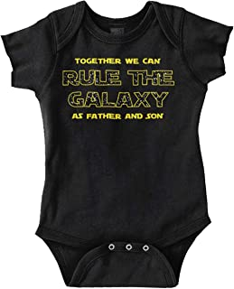 Together Can Rule Galaxy Father Son Family Romper Bodysuit
