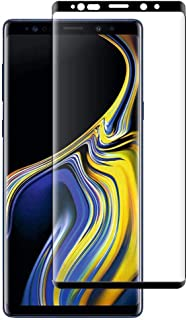 For Samsung Galaxy Note 9 Tempered Glass Screen Protector 5D Curved Edge 9H Hardness Anti-scratch Anti-shatter HD Clear Sc...