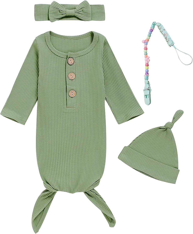 Very popular Dramiposs 4Pcs Newborn Girls Boys Lo Infant Nightgowns Sleepwear Wholesale