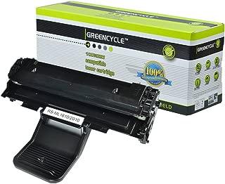 GREENCYCLE 1 Pack ML2010 ML-2010 Black Toner Cartridge Compatible for Samsung ML-1610R ML-1615 Laser Printer