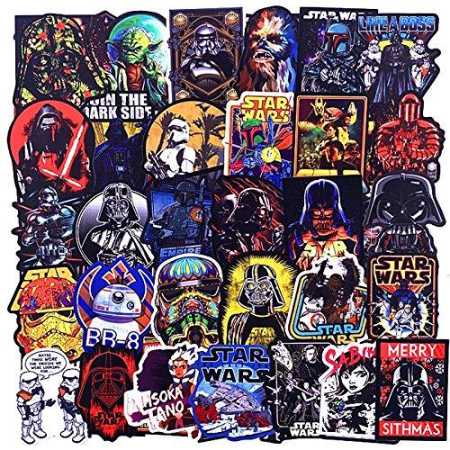 LSPLSP Disney Series Collection Sticker Star Wars Superhero Sticker Skateboard Car Computer Trolley Sticker